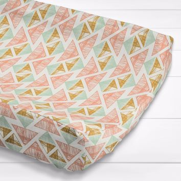 Crystal Arrowheads Aztec - Changing Pad Cover