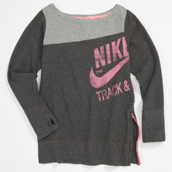 Nike Crewneck Sweater (Big Girls) | Nordstrom