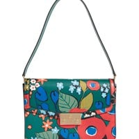 Tory Burch Juliette Flower Print Leather Shoulder Bag | Nordstrom