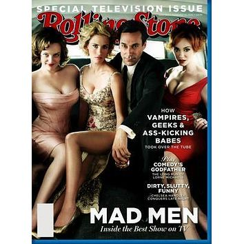 Mad Men Rolling Stone Cover Poster 27inx40in