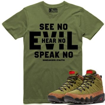 EVIL Sneaker Tees Shirt to Match - Jordan 9 Beef Broccoli