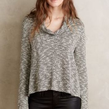 Sunday in Brooklyn Cowled Calista Pullover in Grey Size: