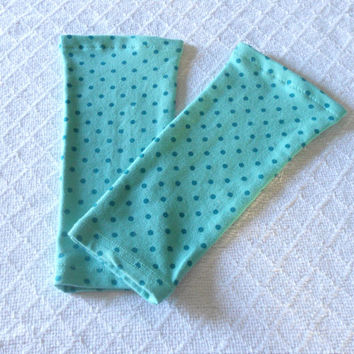 Mint Green Toddler Leg Warmers Girl, Girl Leg Warmers, Girl Leggings, Girl Boot Socks, Footless Sock, Baby Boot Cuff, Ankle Warmer