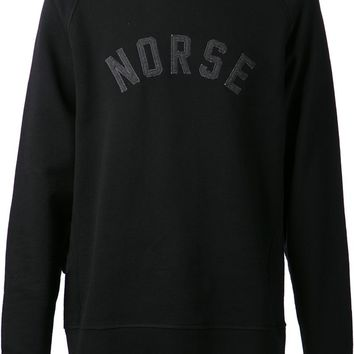 Norse Projects embroidered sweater
