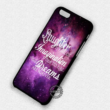 Laughter Imagination And Dreams - iPhone 7 Plus 6 SE Cases & Covers