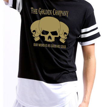 Golden Company Our word is good as gold Colorblock Shortsleeve shirt