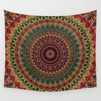 Mandala 220 Wall Tapestry by Patterns Of Life