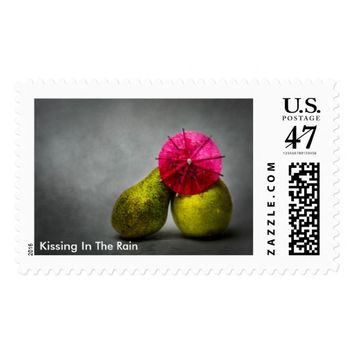 Pears - Kissing In The Rain Postage Stamp