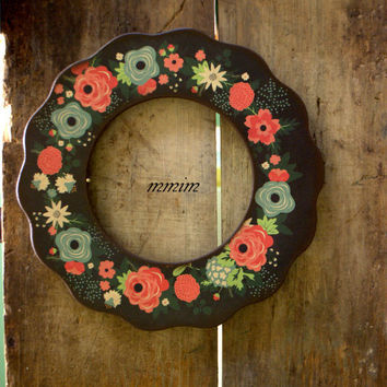 Picture Frame - Flower Wood Picture Frame