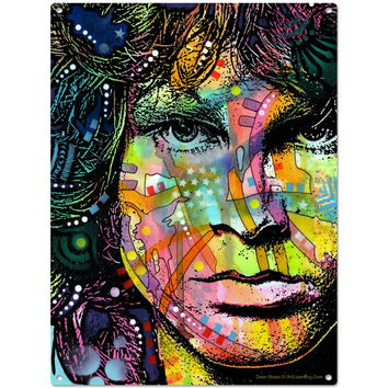Jim Morrison Doors Dean Russo Pop Art Sign_D