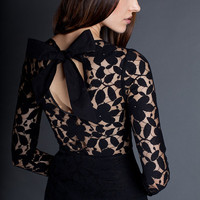 Hilary Lace Dress with Bow