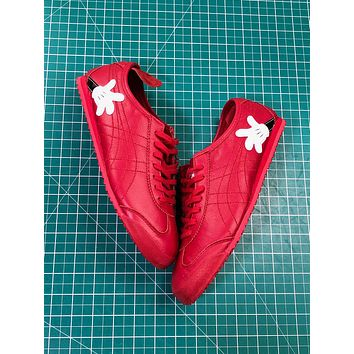 Asics Onitsuka Tiger Mexico66 Red Casual Shoes Sneakers - Sale