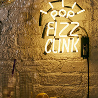 Pop Fizz Clink Neon Sign | Urban Outfitters