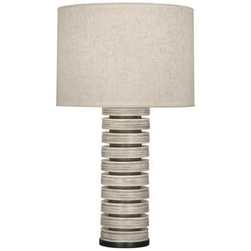 Robert Abbey Berkeley Stacked Table Lamp