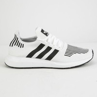 ADIDAS Swift Run White & Black Shoes