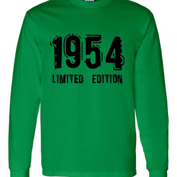 1954 Limited Edition Bday Long Sleeve Unisex T Shirt 59Th Bday Tee Great Birthday Gift Long Sleeve Happy 59th tee Shirt