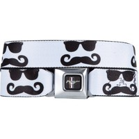 BUCKLE DOWN Mustang Sunglass Mustache Buckle Belt