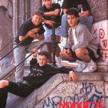 New Kids on the Block Hangin' Tough 1989 Poster 22x34