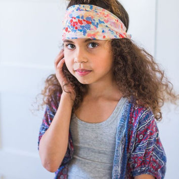 Kids Watercolor Headwrap