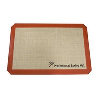 Fat Daddio's Silicone Baking Mat, Fits Half Size Sheet Pan 11 5/8 Inch x 16 1/2 Inch