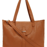 Handy Eye Candy Tan Tote