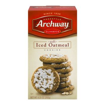 Archway Classics Soft Iced Oatmeal Cookies, 9.25 OZ - Walmart.com