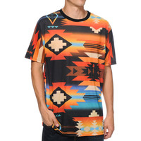Neff x Mac Miller Tribal Print Sublimated Tee Shirt