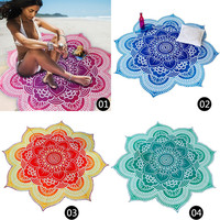 2016 Fashion Retro Trendy Lotus Shape Tapestry Hippie Beach Throw Yoga Mat Rug Blanket #87576-in Carpet from Home, Kitchen & Garden on Aliexpress.com | Alibaba Group