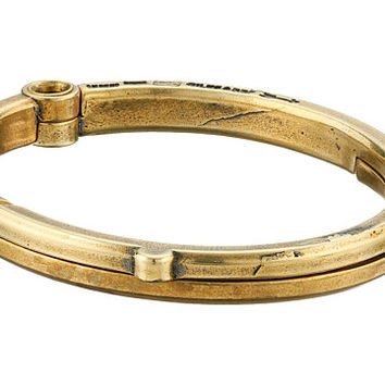 Giles & Brother Latch Cuff Bracelet Classic Brass - Zappos.com Free Shipping BOTH Ways