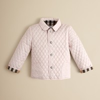 Burberry Toddler Girls Colin Quilted Jacket – Sizes 2-3