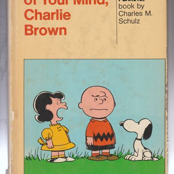 Vintage Hardcover Peanuts Gang Comic Books by Charles M Schulz
