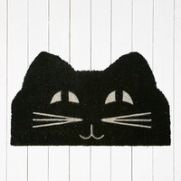 Cat Face Door Mat - Urban Outfitters