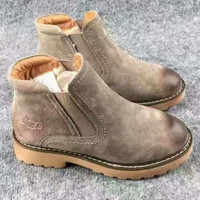 UGG Autumn and Winter Boots Snow Boots for Women and Men Martin Boots Khaki