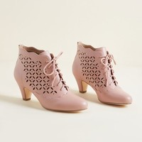 Old World Bold Bootie in Blue