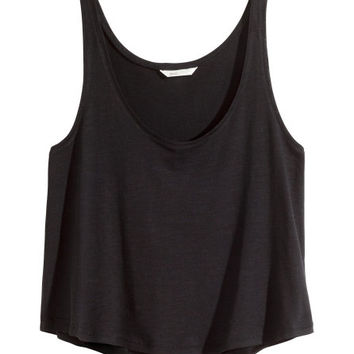 Short Tank Top - from H&M