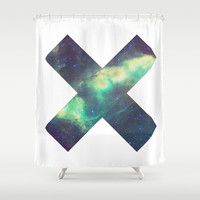 XX Space Shower Curtain by Poppo Inc. | Society6