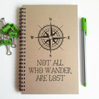 Not all who wander are lost, travel