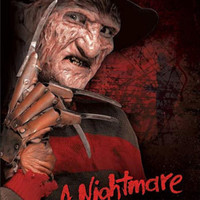 Nightmare on Elm Street Freddy Krueger Movie Tin Sign