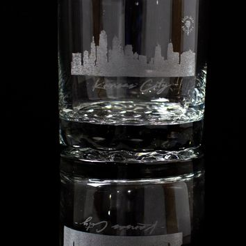"""""""The City"""" Whiskey Glass Set of 2"""