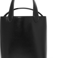 Alaïa - Eyelet-embellished leather bucket bag