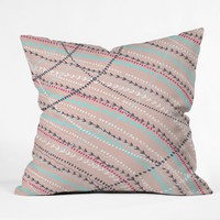 Direction Throw Pillow Rosebudstudio
