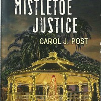 Mistletoe Justice Carol J Post(Cedar Key #3)(Love Inspired LP Suspense)Paperback