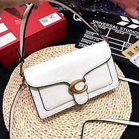 COACH Limited Edition Tabby Series Bacchus Shoulder Bag white