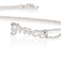 20% OFF -- Dainty Name Necklace - Personalized Name Necklace - Name Children Necklace - Personalized Jewelry - Bridesmaid Gifts