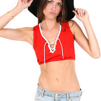 Dazed n' Confused Crop top - Vintage