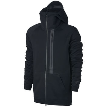 Nike Tech Fleece Full-zip Hoodie - Black/Black