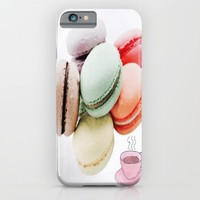 Tea Time iPhone & iPod Case by Laura Santeler