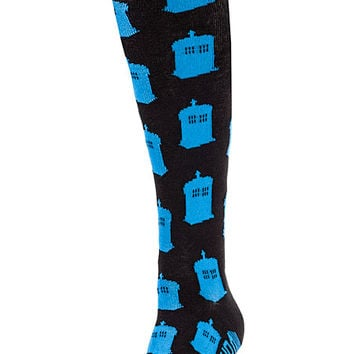 Doctor Who Knee High Socks
