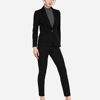 Black Stretch Skinny Pant Suit
