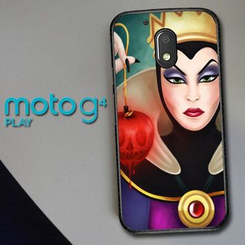 Disney Evil Queen Y0751 Motorola Moto G4 Play Case